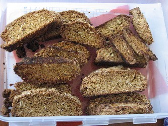Image of Almond Biscotti, Recipe Key