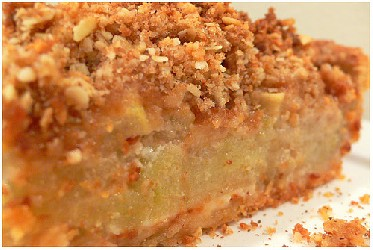 Image of Almond-streusel Peach Pie, Recipe Key