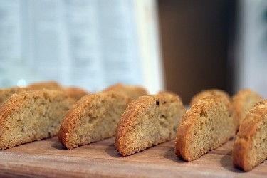 Image of Anise-almond Biscotti, Recipe Key