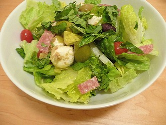 Image of Antipasto Salad, Recipe Key