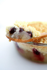 Image of Apple Blueberry Crumble Pie, Recipe Key