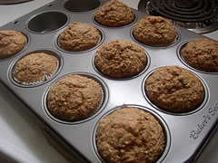 Image of Applesauce Oatmeal Muffins, Recipe Key