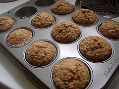Image of Applesauce Oatmeal Muffins, Recipe Key