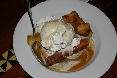 Image of Butterscotch Bread Pudding, Recipe Key