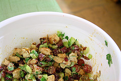 Image of Coriander Chicken Salad, Recipe Key