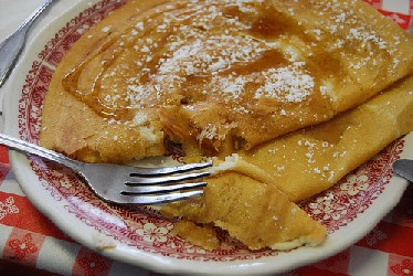 Breakfast idea - Danish pancake