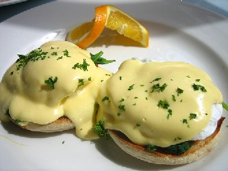 Image of Eggs Benedict, Recipe Key