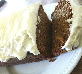 Image of Homemade Carrot Cake, Recipe Key