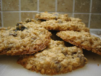Image of Loaded Oatmeal Cookies, Recipe Key