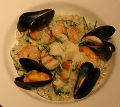 Image of Seafood Risotto, Recipe Key