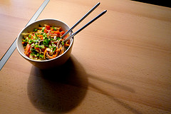 Image of Spicy Vegetable Noodle Stir Fry, Recipe Key