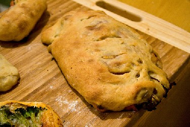 Image of Spinach And Cheese Stromboli, Recipe Key