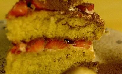 Image of Strawberry Cake, Recipe Key