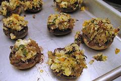 Image of Stuffed Mushrooms, Recipe Key