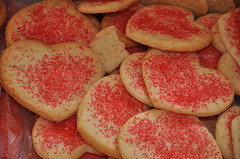 Image of Valentine Cookies, Recipe Key