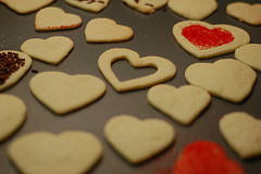 Image of Valentine Sugar Cookies, Recipe Key