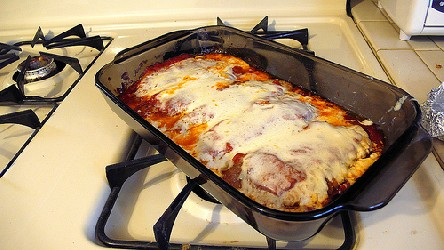 Image of Veal Parmesan, Recipe Key