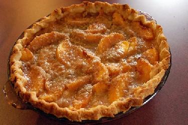 Image of Winona Peach Pie, Recipe Key