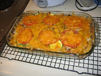 Image of Yummy Zucchini Bake, Recipe Key