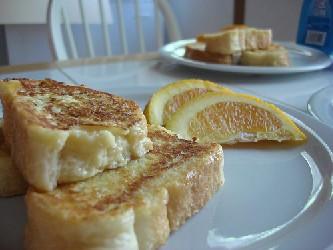 Image of Orange French Toast, Recipe Key