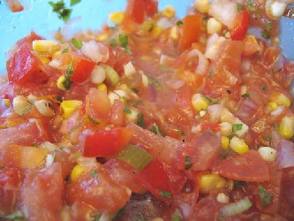 Image of Summer Salsa, Recipe Key