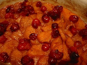 Cranberry Glazed Sweet Potatoes