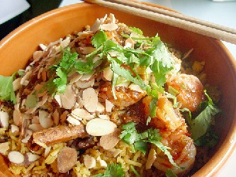 Image of Almond Chicken Casserole, Recipe Key