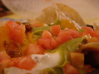 Superbowl Food - Nachos Grande