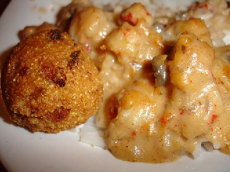 Image of Cajun Hushpuppies, Recipe Key