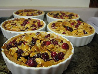 Image of Cranberry Walnut Tart, Recipe Key