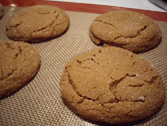 Image of Soft Ginger Cookies, Recipe Key