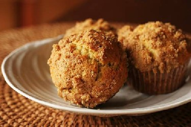 Image of Banana Crumb Muffins, Recipe Key