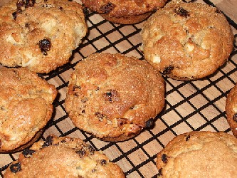 Image of Apple Spice Muffins, Recipe Key