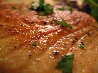 Image of Salmon With Lemon And Rosemary, Recipe Key