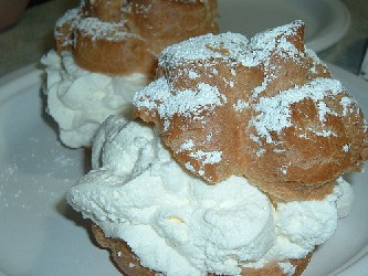 Image of Cream Puffs, Recipe Key