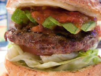 Image of Mexican Burgers, Recipe Key