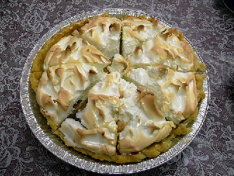 Image of Norske Nook Sour Cream Raisin Pie, Recipe Key