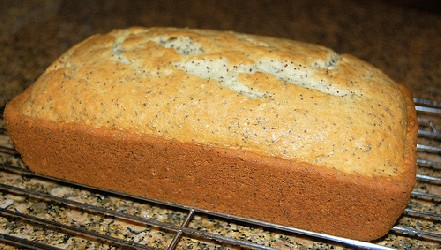 Image of Almond  Poppy  Seed  Bread, Recipe Key