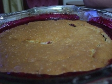 A Berry, Berry Good Cobbler