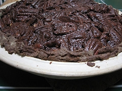 A Chocolate Pecan Pie