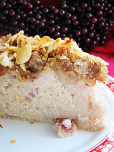 Almond Butter Coffee Cake