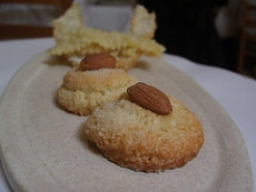 Almond Praline Cookies