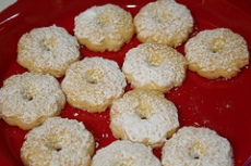Almond Shortbread Biscuits