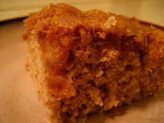 Apple-Cinnamon Coffee Cake