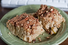 Apple-Nut Coffee Cake