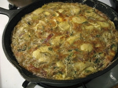 Artichoke Frittata