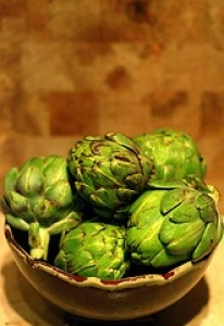 Artichokes with Butter Sauce