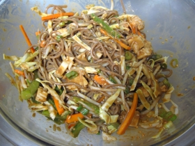 Asian Noodle Salad with Peanuts