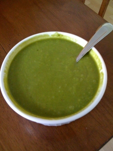 Avocado Cilantro Soup