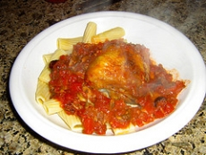 Baked Chicken Cacciatore